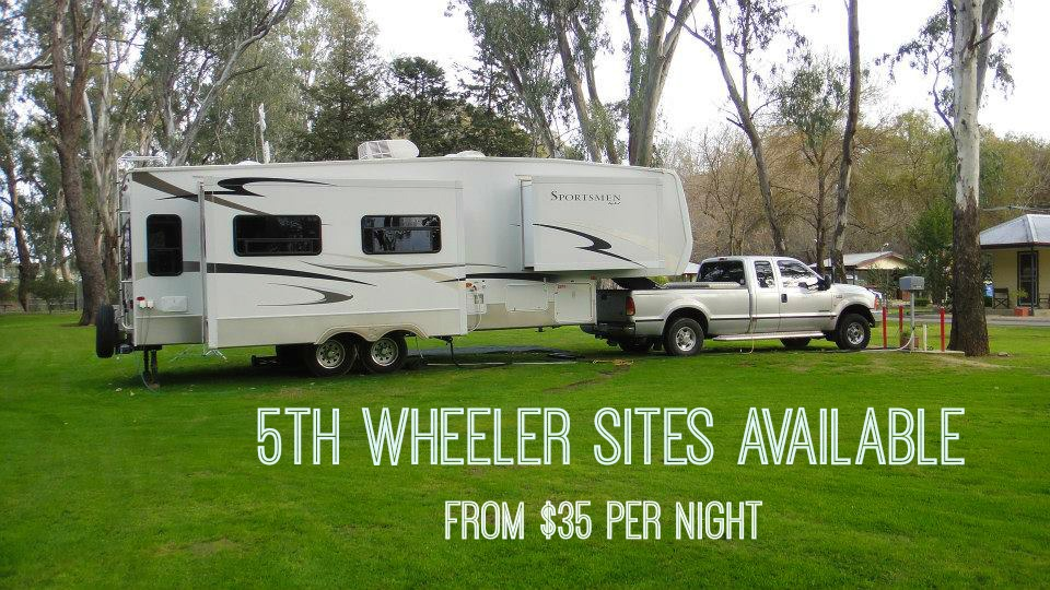 Wangaratta 5th wheeler powered sites