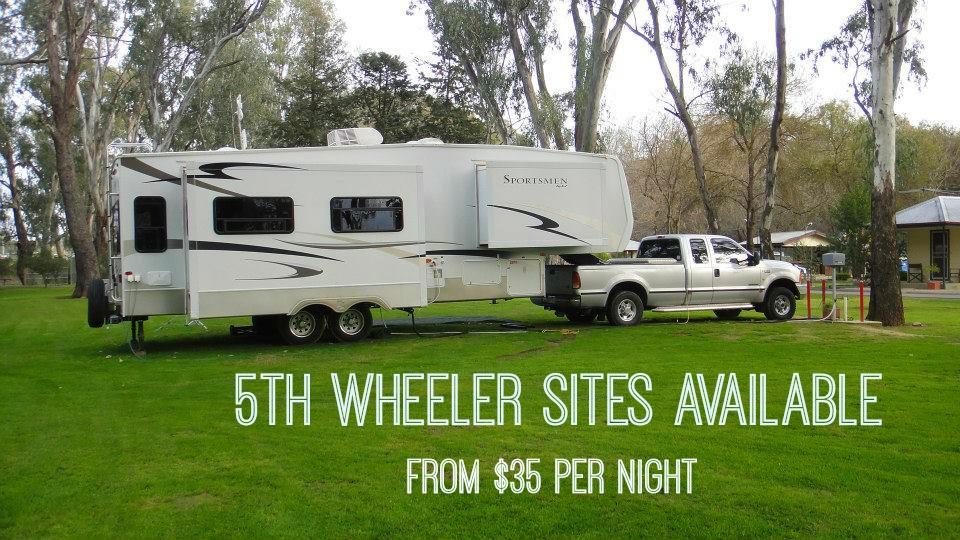 Wangaratta 5th wheeler powered sites
